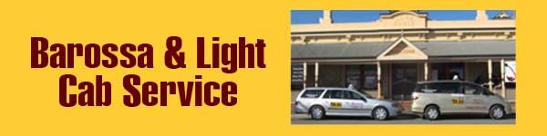 Barossa & Light Cab Service